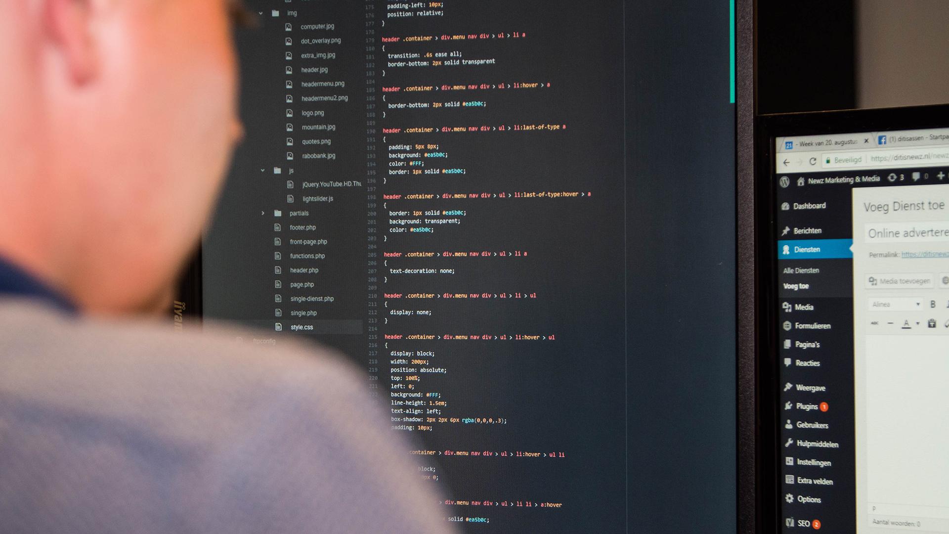Website ontwikkeling