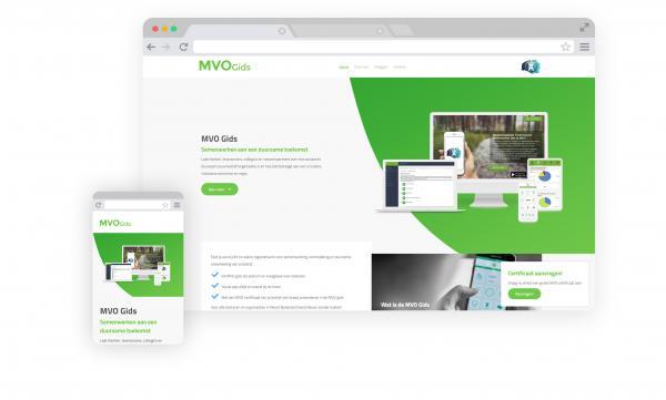 Webdesign MVO Alliantie